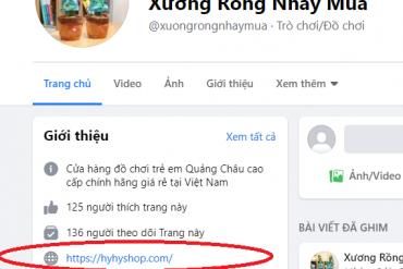 CẢNH BÁO TRANG BÁN HÀNG GIẢ MẠO ĐỊA CHỈ TRANG WEB HYHYSHOP
