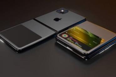 Thêm 1 concept khó tin của iPhone 12 với màn hình gập kiểu vỏ sò, không còn